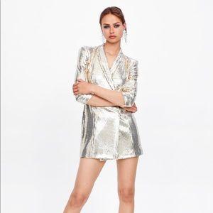 Zara Shiny Blazer/Dress